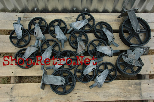 Antique Casters Vintage Caster Wheels