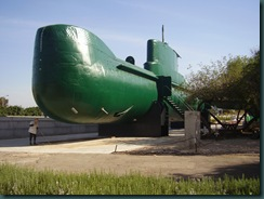 Haifa museum submarine INS Gal
