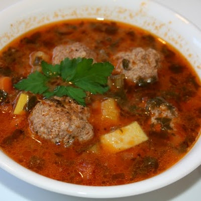 Easy Kibbeh Soup