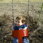 Kaden swinging - Nexus One continuous shoot