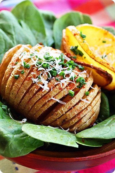 Hasselback Baked Potato