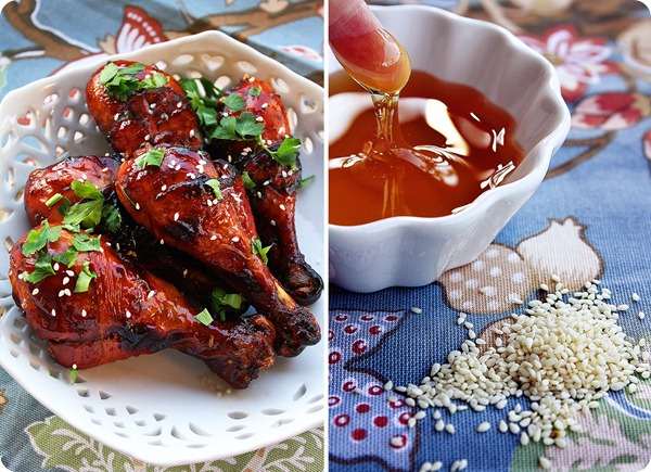 sweet sticky chicken recipes