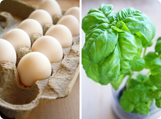 Eggs and Basil