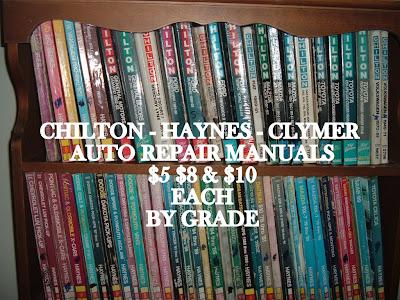 chiltons or haynes