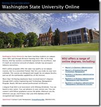 WSU Online Boeing