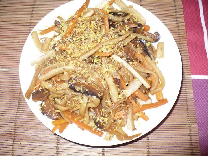 Link to Itame Namasu: Salteado de verduras en vinagre