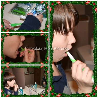 jake brushing