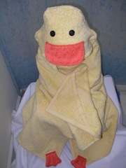 ducky towel