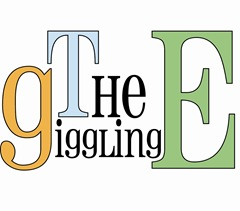 the new giggling e logo