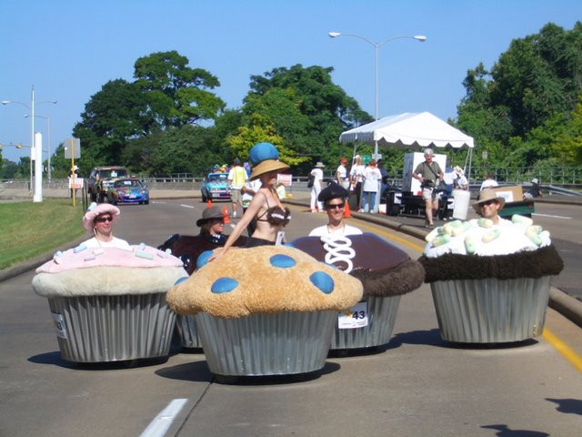 Electric Muffin Cars