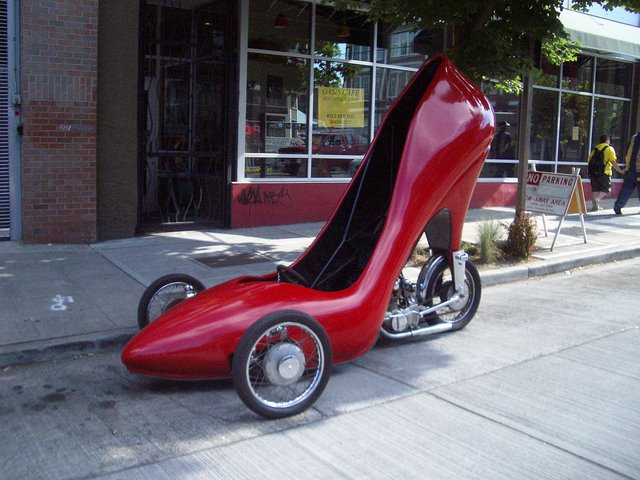 Lady's Shoe Car