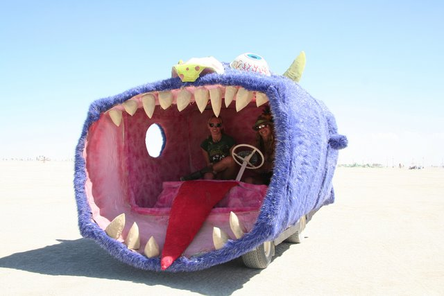 Crazy Shark Car
