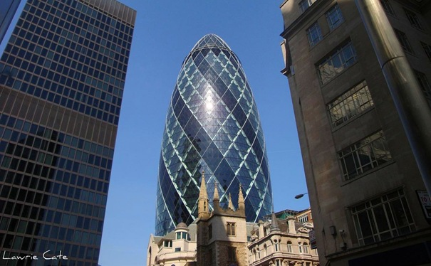 Gherkin Building - London, Reino Unido