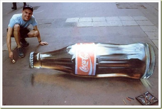 Amazing 3D sidewalk images