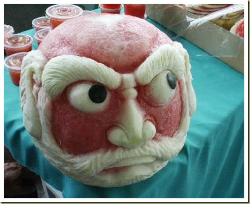 watermelon carving for baby shower. The Art of Fruit and Vegetable