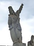 Un des prophètes de l'Aleijadinho, Congonhas