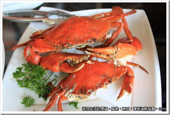 樺榮海鮮餐廳,螃蟹一公一母。