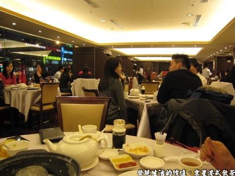 京星港式飲茶,京星港式飲茶二店的用餐環境,屬於開放空間。