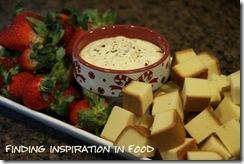 Finding Inspiration In Food: Eggnog Dip and Cooked Custard Eggnog