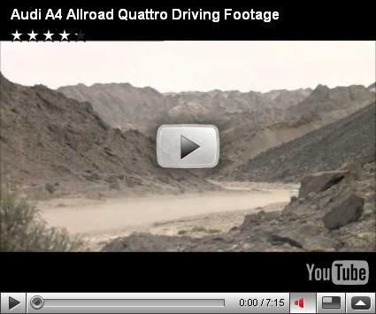 Vídeo-Audi A4 Allroad Quattro