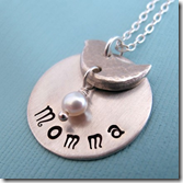 Momma Bird necklace