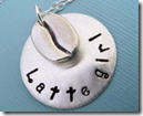 Latte Girl Necklace