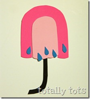 u is for umbrella craft