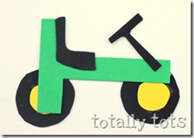 t is for tractor craft