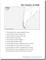 Mapping Chile