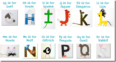 ABC alphabet crafts