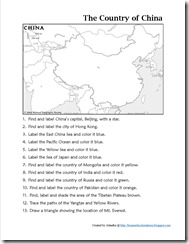 Mapping China