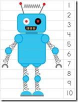 Robot Preschool Pack Part 2 puzzle