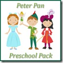 Peter Pan Preschol Pack Button