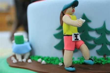 Triathlon Cake: Runner1