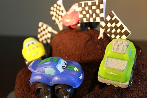 Car and Truck Cake 3