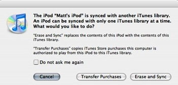 Transfer iPod music to Computer
