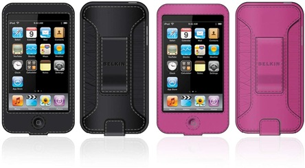 Leather Sleeve iPod Touch case from Belkin