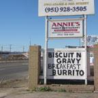 Annie's Family Restaurant Menifee