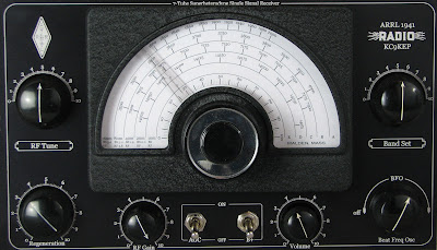 KC9KEP's ARRL 1941 7-Tube Superheterodyne Homebrew Radio