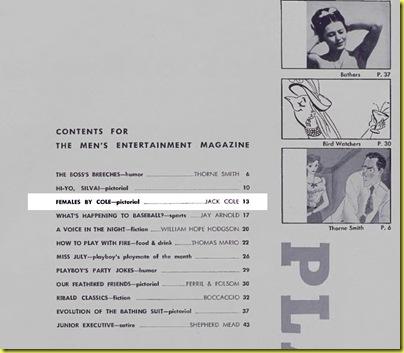 Playboy cartoon Jack Cole July 1954 h