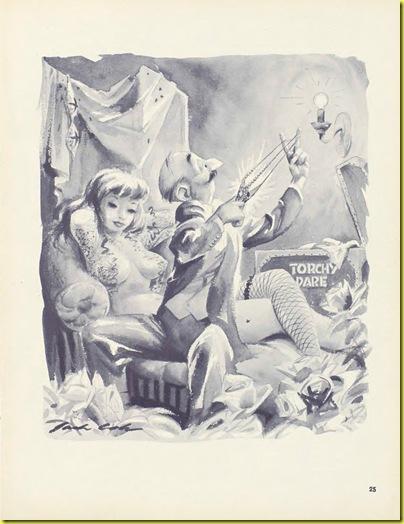 Playboy cartoon Jack Cole May 1954