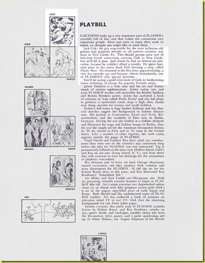 Playboy cartoon Jack Cole August 1954 d