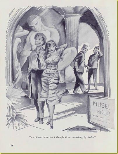Playboy cartoon Jack Cole Dec1954 a