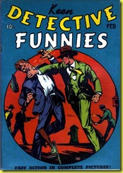 cover keen detective funnies 6