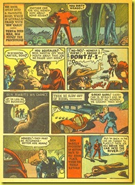 Cartoon crooks and car theives in rare old comic book_3