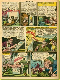 image: page from rare comic book web of evil 11 by Jack Cole