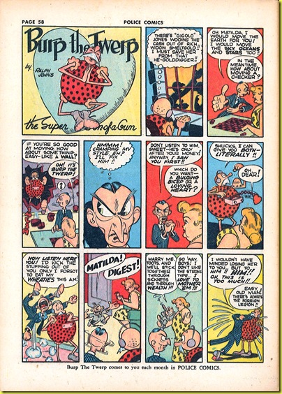 Police Comics 8-Burp 7
