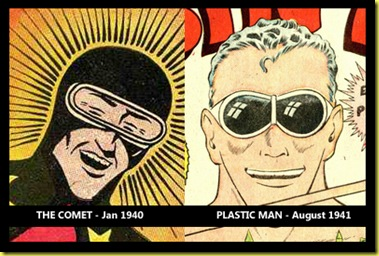 The Comet and Plastic Man