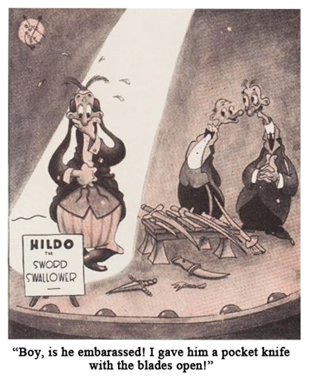 Jack Cole Cartoon Boys Life 1936 Oct 2