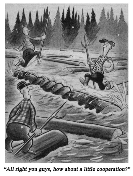 Jack Cole Cartoon Boys Life 1938 August